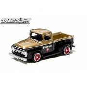 1956 Ford F-100 (Firestone) 2014 Motor World Series 12 American Edition 1:64 Scale Die-Cast Vehicle