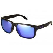 Oakley Holbrook Julian Wilson matte black/violet iridium 2017 Brillen