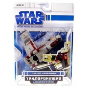 Star Wars Clone Wars Transformers Crossovers Clone Pilot to Republic Gunship