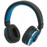Casti cu Microfon Manhattan 178440, Bluetooth (Albastru)