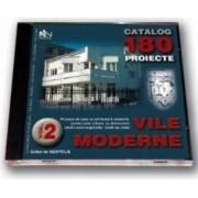 Cd proiecte vile moderne volumul 2