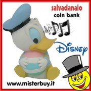 SALVADANAIO DISNEY PAPERINO BABY MUSICALE