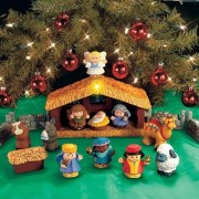 Fisher-Price Little People Deluxe Christmas Story