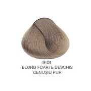 Vopsea Permanenta Evolution of the Color Alfaparf Milano - Blond foarte Deschis Cenusiu Pur Nr 9.01