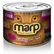 Marp Pure Turkey CAT Can Food 6x200g