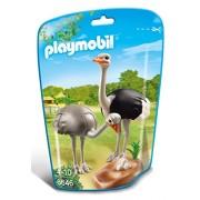 Playmobil - 310525 - Le Zoo - 6646-Autruches Et Nid