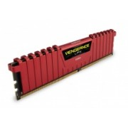 Kit Memoria RAM Corsair Vengeance LPX Red DDR4, 3000MHz, 32GB (2 x 16GB), CL15, XMP