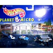 Hot Wheels Police Force Series 1 - Hot Wheels Planet Micro by Hot Wheels