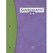 Saxon Math 5/4 Facts Practice Workbook by Stephen Hake