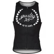 guilty 76 racing Guilty 76 Racing - Ropa de triatlón Hombre - Top negro M Monos triatlón