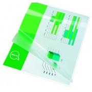 GBC - Funda de plástico (formato A6, 125 micrones, 100 unidades), transparente