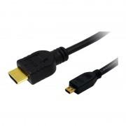 LogiLink HDMI Kabel, A-Stecker - D-Stecker Micro, 1,5 m