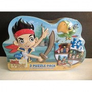 Disney Jake and the Never Land Pirates 3 Puzzle Pack