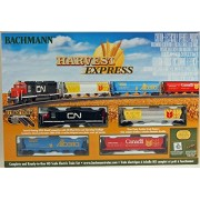 Bachmann Trains Harvest Express Ready To Run Electric Train Set