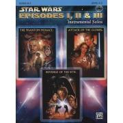 Star Wars Episodes I, II & III Instrumental Solos by Bill Galliford