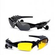 óculos de sol Bluetooth v4.0 fone (enviar lente de visão noturna)