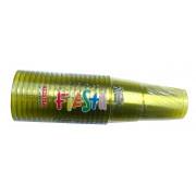 Set 25 pahare PET 250 cc din plastic ARISTEA galben