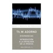 Disonancias / Dissonances by Theodor W. Adorno