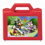 Puzzle Clubul Mickey Mouse, 6 piese, RAVENSBURGER Puzzle Copii