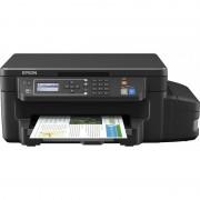 Multifunctional inkjet color EPSON L605, CISS, A4, Retea, Wi-Fi, Duplex