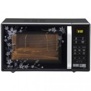 LG 21 L Convection Microwave Oven (MC2144CP, Black Paradise Floral)