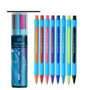 8 Colors/Set Germany Schneider Drawing Pen Set Neutral Oily Ballpoint Pen Edge-XB 0.8mm XB Nib Student School Stationery Gift