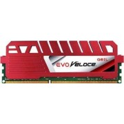 Memorie GeiL Evo Veloce Hot-rod Red 4GB DDR3 1600MHz CL9