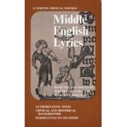 Middle English Lyrics by Richard L. Hoffman
