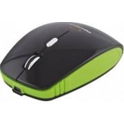 Mouse Wireless Esperanza EM121K 1600DPI Negru-Verde