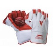Slazenger de críquet para Sport Keeper Guantes de goma Palm Academy - Guantes para bateador de críquet