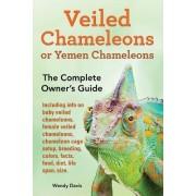 Veiled Chameleons or Yemen Chameleons as Pets. Info on Baby Veiled Chameleons, Female Veiled Chameleons, Chameleon Cage Setup, Breeding, Colors, Facts, Food, Diet, Life Span, Size. by Wendy Davis