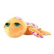 Suki Gifts 14215 - Li'L Peepers 'Sunshine' Tartaruga di Peluche, 32Cm, Arancione e Stampa Floreale