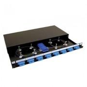 Accesoriu pentru rack: Fusion UK 1U SC/PC 24 SM Duplex echipat