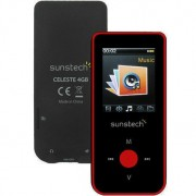 Reproductor MP4 Sunstech CELESTE4GBRD Rojo