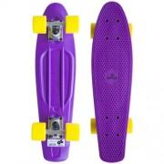 Skateboard Spartan Plastic Fialový