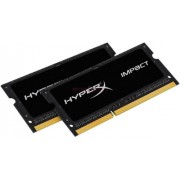 Memorii Laptop Kingston HyperX Impact Black SO-DIMM DDR3L, 2x4GB, 1866MHz, 1.35V, (CL11)