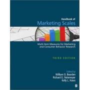 Handbook of Marketing Scales by Professor Kelly L. Haws