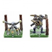 Duel Master Collectible: Deathblade Beetle & Fighter Dual Fang