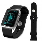 Apple Watch Tuff-luv Silicone Wristband - 38mm - Black