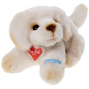 Bauer 17096 - Peluche Pia Pia Club Golden Retriever Lying, 17 cm