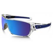 Oakley Turbine Rotor fietsbril blauw/transparant 2017 Sportbrillen