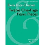 Twelve One-Page Piano Pieces by Elena Kats-Chernin