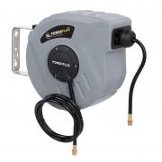 Enrollador manguera aire comprimido 10m Powerplus POWAIR0215