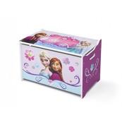 Delta Children - Cofre de almacenaje de juguetes (madera), diseño de Frozen
