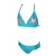 Anet Girls dvojdílné plavky 3-4 roky modrá