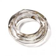 KnorrPrandell 2210419 - Anello cosmico Swarowski, 30 mm, 1 pezzo, colore: Argento