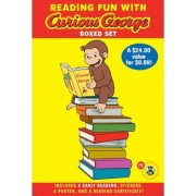 Reading Fun With Curious George Boxed Set by H.A. Rey