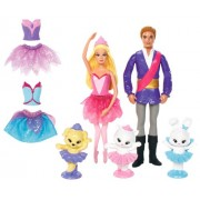 BARBIE PINK SHOES SMALL DOLL GIFT BAG DOLLS