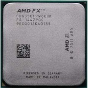 AMD Black Edition - AMD FX 6350 - 3.9 GHz - 6 c urs - 6 Mo cache - Socket AM3+ - Box