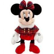 Disney Exclusive 2013 HOLIDAY 17 Inch Plush MINNIE Mouse [Plaid Cape & Bow!]